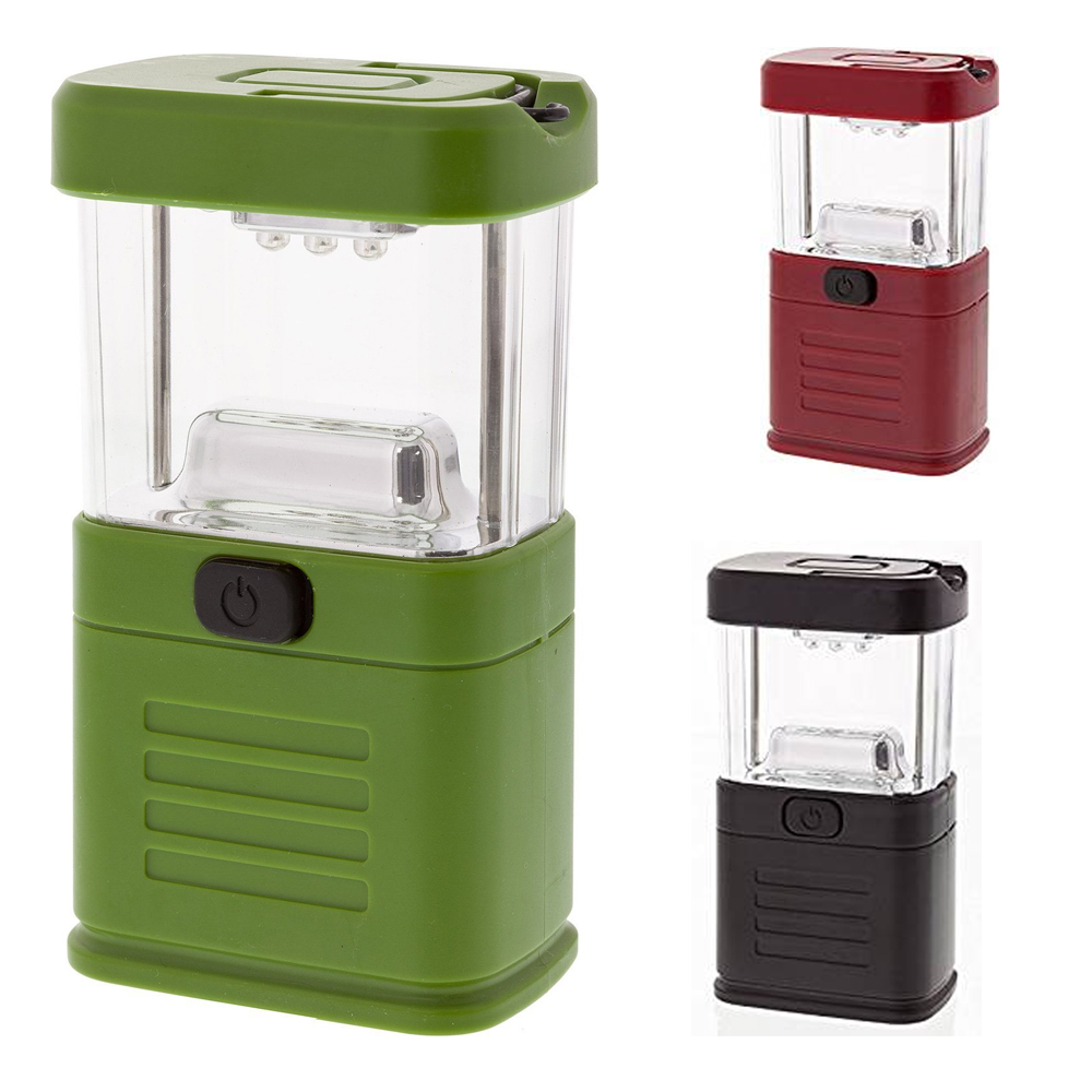 1 Lantern 11 LED Light Lamp Portable Camping Emergency Hiking Outdoor Tent Hook