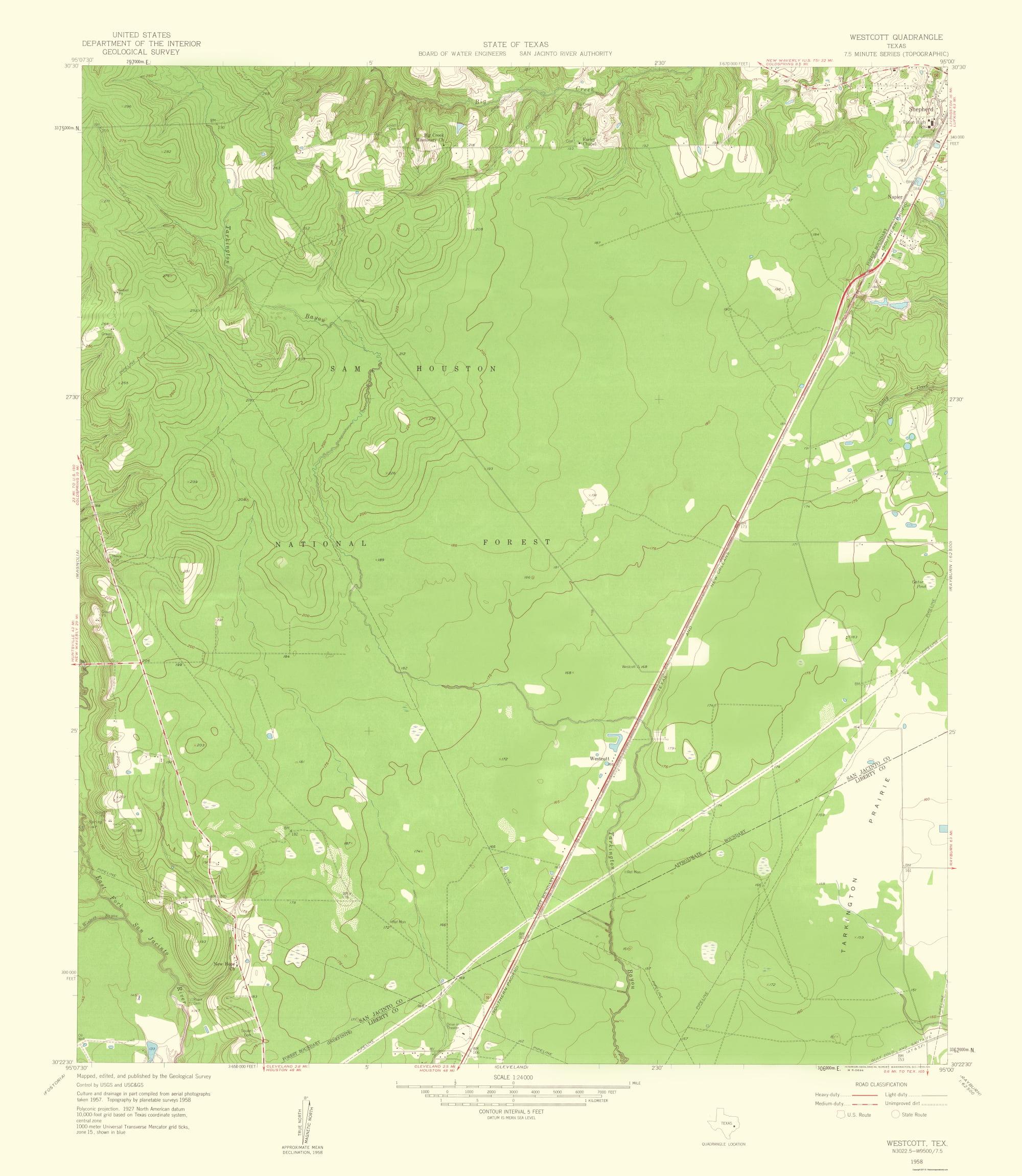 Topographical Map Print - Westcott Texas - USGS 1959 - 23 x 26.46 on mayo clinic rochester map, csu east bay map, duke map, los angeles cities map, galveston texas city map, michigan state university campus map, unc map, uc berkeley map, jcu map, piedmont tech map, university of michigan map, university of oregon campus map, stanford university map, west texas state map, hcc ybor campus map, la southwest college map, seton hall map, harvard map, university of ca map, ucla map,