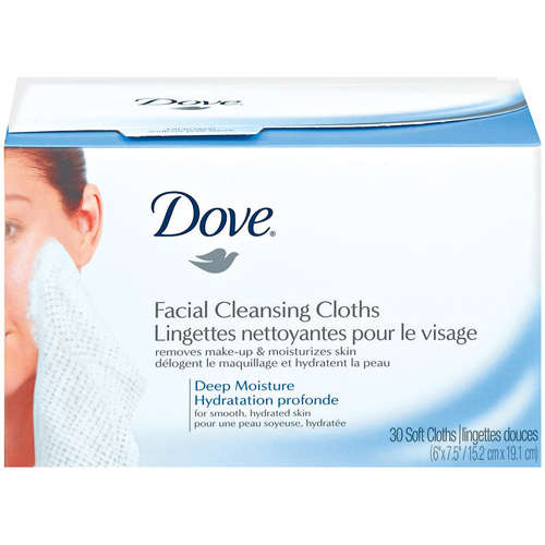 Dove: Facial Cleansing Cloths, 30 ct