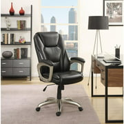 Serta Big & Tall Bonded Leather Commercial Office Chair with Memory Foam, Multiple Color Options
