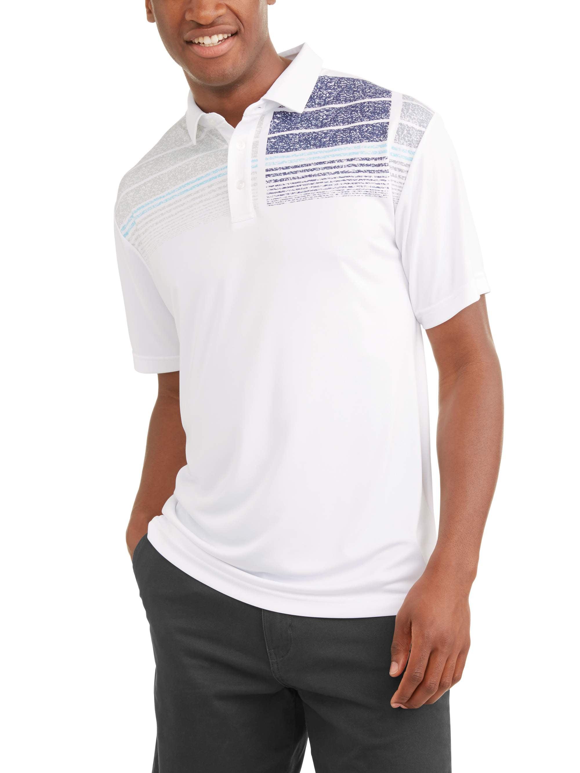 Ben Hogan Men's Performance Short Sleeve Premium Lightweight Polo Shirt