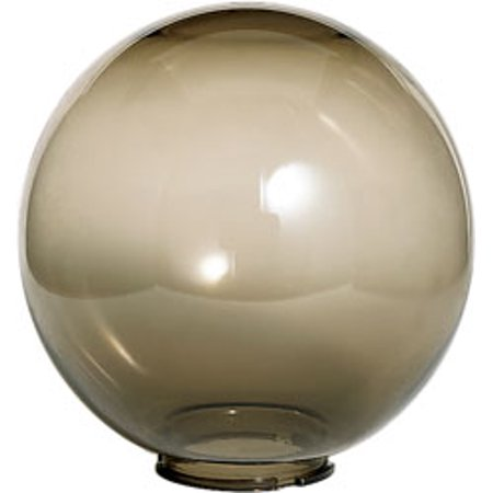 Replacement for 50/781 SMOKE ACRYLIC GLOBE 12 INCH DIAMETER 5 1/4 INCH FITTER Smoke Acrylic Globe