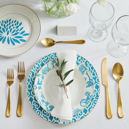 12 Piece Patricia Heaton Porcelain Dinnerware Set  Now $16.71 (Was $41.25)