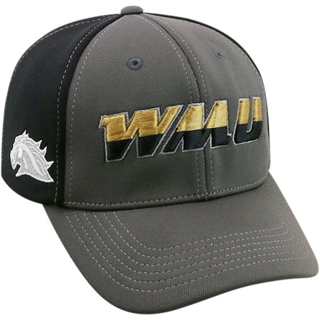 University Of Western Michigan Broncos Grey Two Tone Baseball Cap