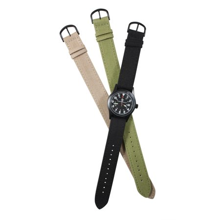 Smith & Wesson Field Watch (Smith and Wesson Military Multi Canvas Strap Watch Olive Drab - SWW-1464-OD )