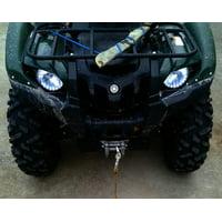 Yamaha Grizzly LED Angel Eye Strip Lights DRL Halo