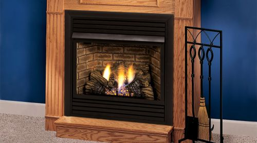 "32"" Vent Free Fireplace System Millivolt Control LP by"