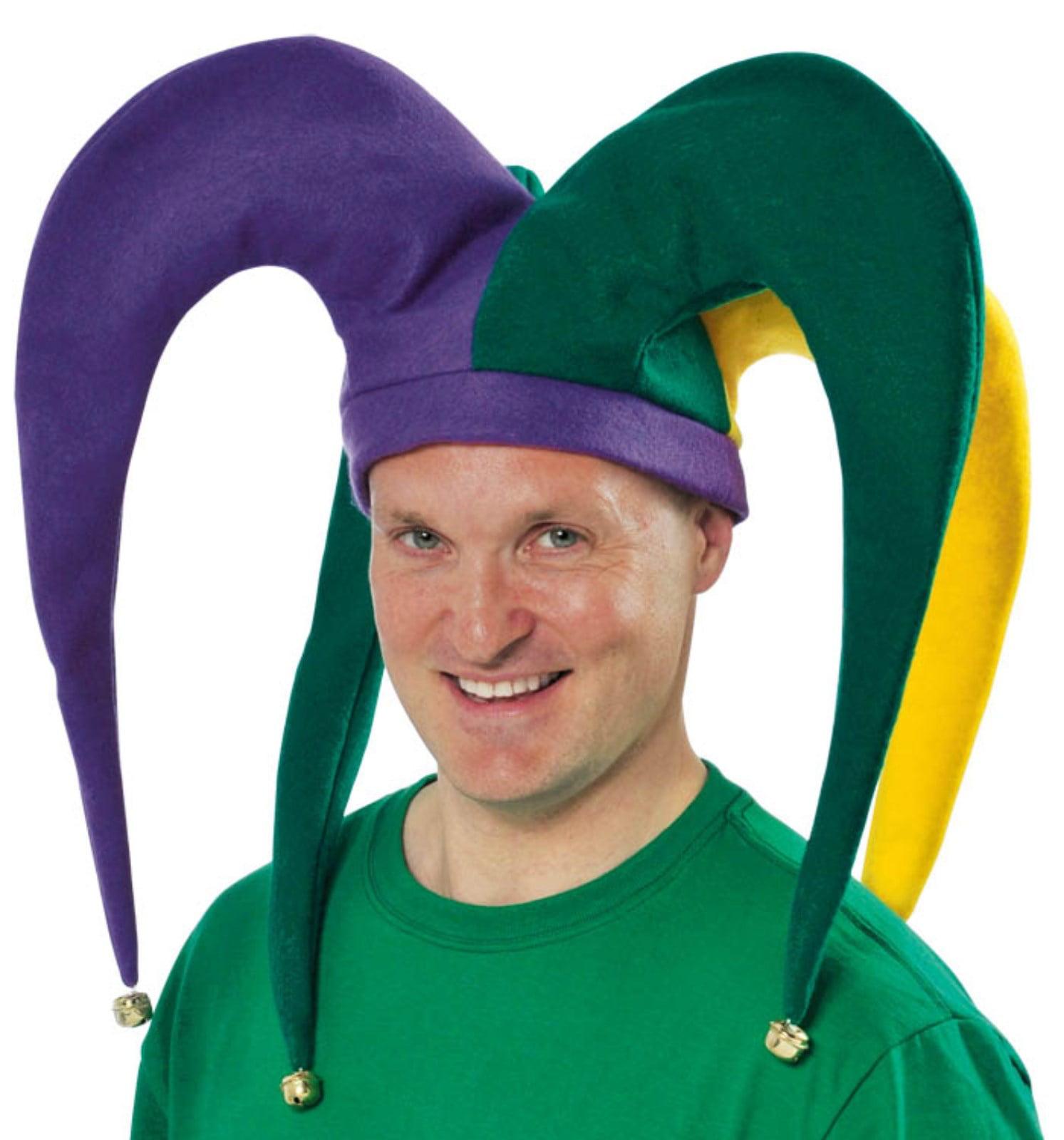Giant Jester Mardi Gras Hat