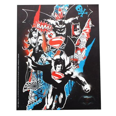 """Batman v Superman: Dawn of Justice 7.5"""" x 9.5"""" Wall Plaque"""