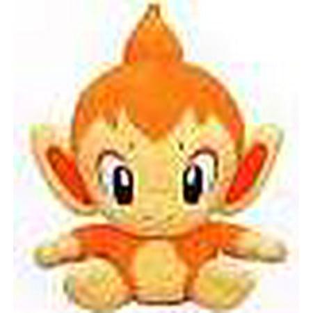 Pokemon Japanese Chimchar Chibi Plush - Chibi Halloween Cat