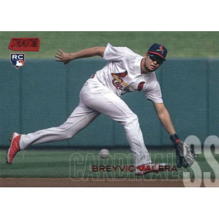 2018 Topps Stadium Club #120 Breyvic Valera St. Louis Cardinals Rookie Baseball Card - *GOTBASEBALLCARDS Topps Stadium Club Rookie Card