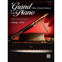 Grand One-Hand Solos for Piano, Bk 1: 6 Early Elementary Pieces for Right or Left Hand Alone (Paperback)