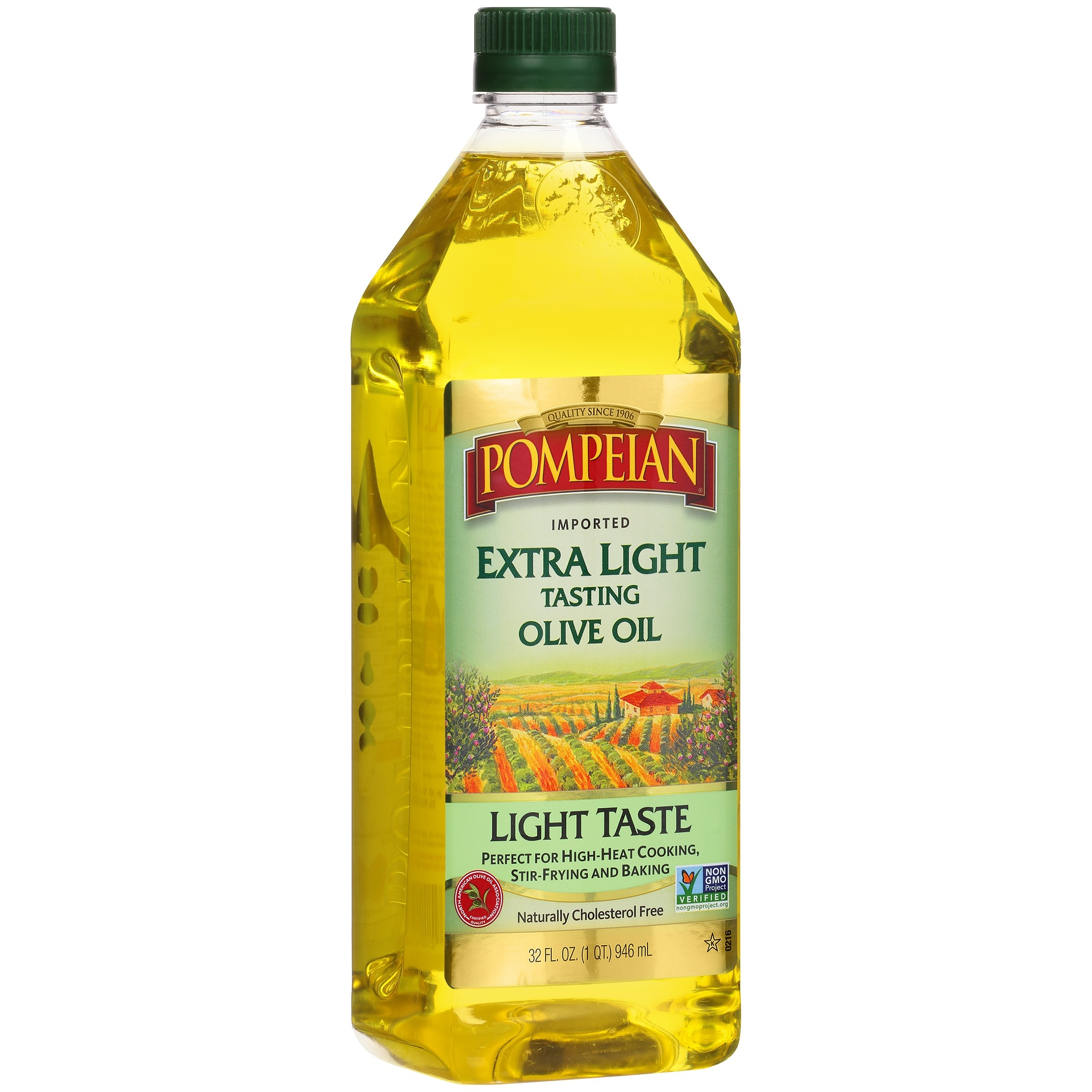 Pompeian Imported Extra Light Tasting Olive Oil Light Taste, 32.0 FL OZ