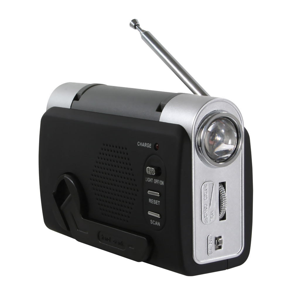Offex Hand Crank Emergency Radio by Offex