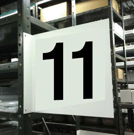 Projecting Aisle Sign, Stranco Inc, HPS-2W1412-11