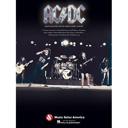 AC/DC : Easy Guitar with Riffs and Solos
