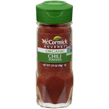 (2 Pack) McCormick Gourmet Organic Chili Powder, 1.75 -