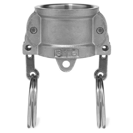 Cam and Groove Fitting - 304 Stainless Steel - Type DC - 1-1/2