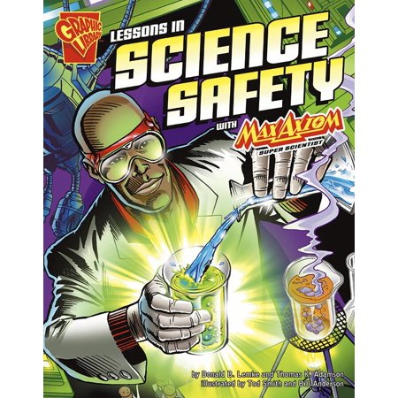 Lessons in Science Safety with Max Axiom, Super Scientist](Halloween Safety Lesson)