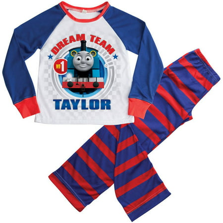 Personalized Thomas and Friends Boy's Pajamas