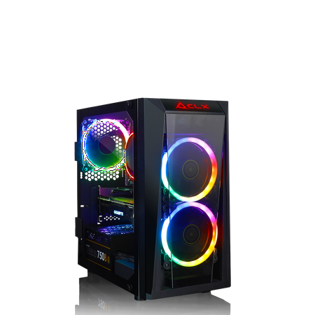 CLX SET SCRIBE GAMING AMD Ryzen 7 2700 3.20GHz 8 Core, NVIDIA GeForce RTX 2060 6GB GDDR6, 16GB DDR Memory, 240GB SSD + 1TB HDD Storage MS Windows 10