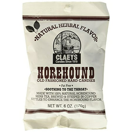 Claeys Old Fashioned Horehound Drops - 6 Ounce