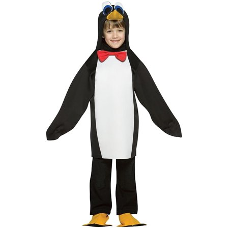 Halloween Light Show Animals (Penguin Lightweight Child Halloween Costume, One Size,)