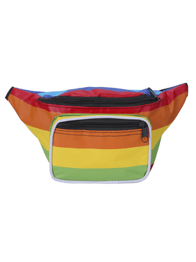 bb333dff6a85 Product Image HDE Fanny Pack  80 s Style  Waist Pack Outdoor Travel  Crossbody Hip Bag (Rainbow