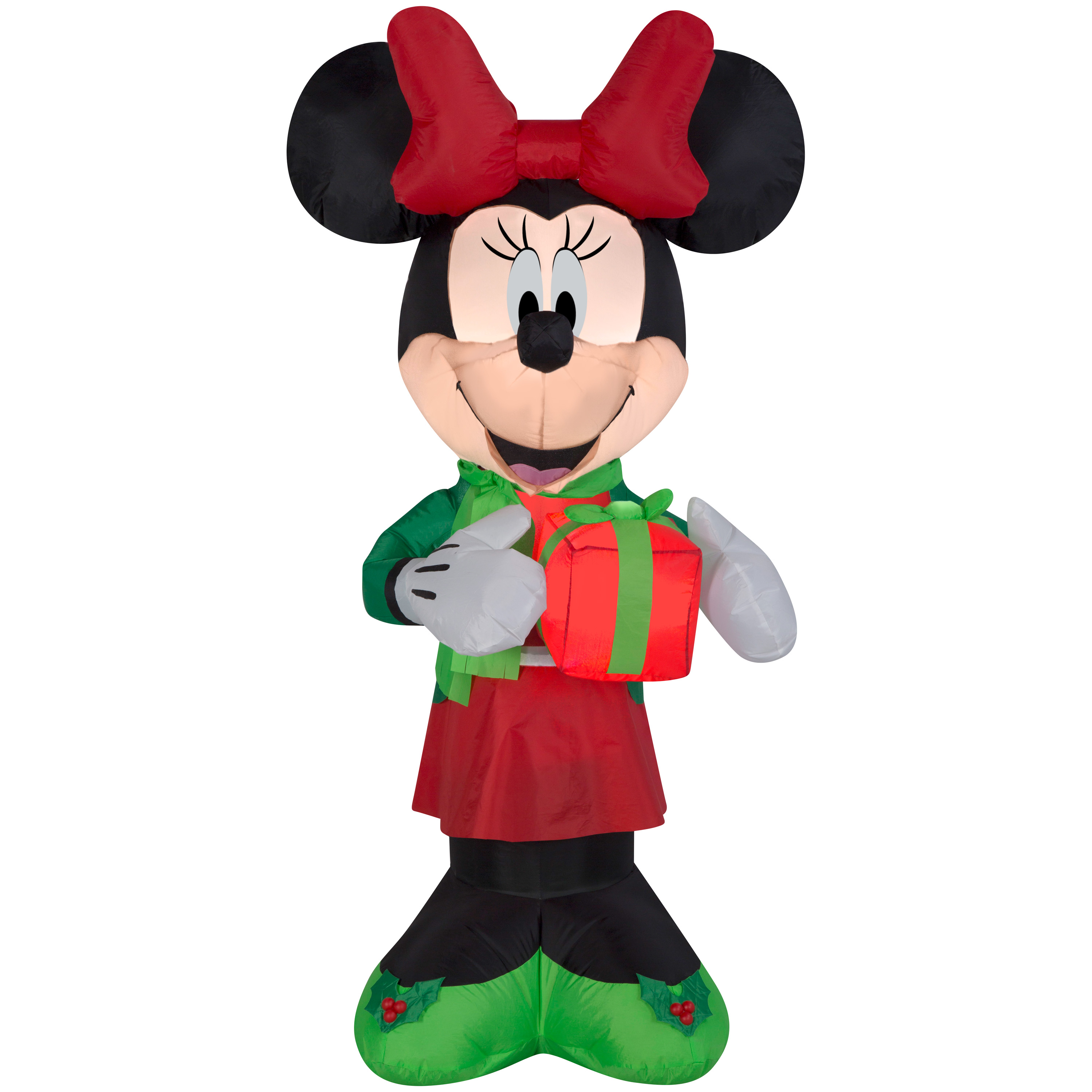 Awesome Christmas Inflatable Minnie Mouse Disney Decoration Yard ...