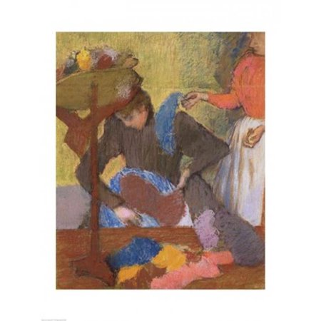 Posterazzi BALXIR10068 At The Milliners Poster Print by Edgar Degas - 18 x 24 in. - image 1 de 1