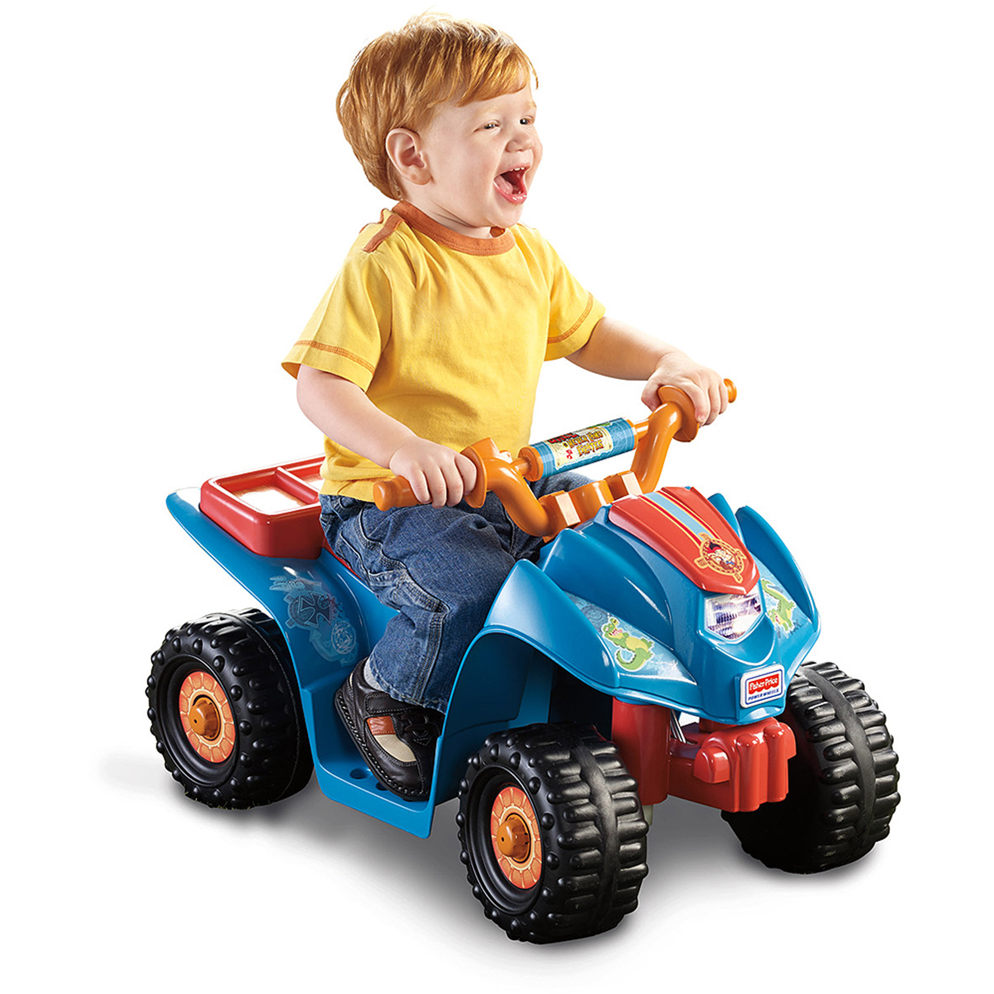 Fisher-Price Power Wheels Jake and the Never Land Pirates Lil' Quad