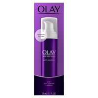 Olay Age Defying Anti-Wrinkle 2-in-1 Day Cream Plus Face Serum, 1.7 oz