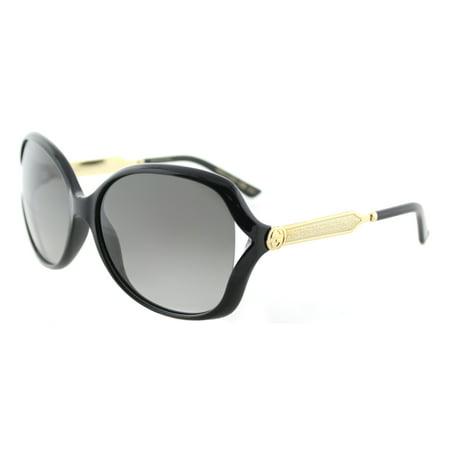 Gucci GG0076S 002 Women's Fashion Sunglasses