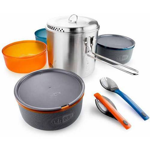 Click here to buy Enamelware Glacier Stainless Dualist by Enamelware.
