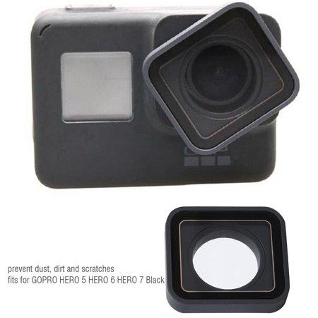 LYUMO Replacement Lens Cover for Gopro Hero 5 Hero 6 Hero 7 Black Camera Accessory, Lens Cap (Gopro Hero 4 Lens Cover)