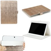 "JAVOedge Bronze Metallic Pattern Universal Case for 9-10"" Tablets, iPad Air, Samsung Note, Nook HD 9, Nexus 10 + More"