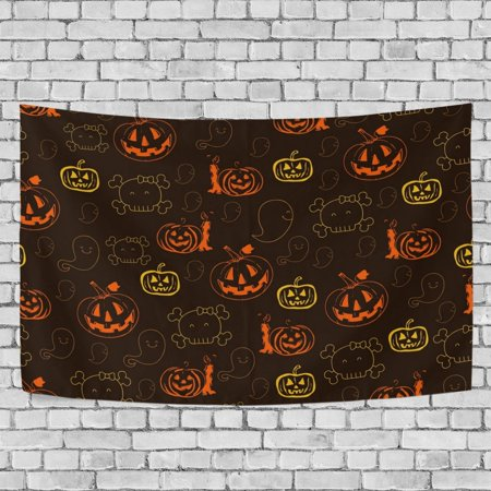MYPOP Halloween Tapestry Wall Hanging Decoration Home Decor Living Room Dorm 90 x 60 inches (Halloween Decorations Living Room)