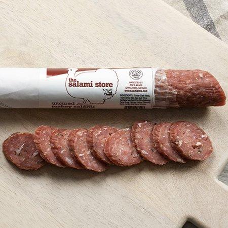 Uncured Turkey Salami by Zoe's Meats (8 ounce)