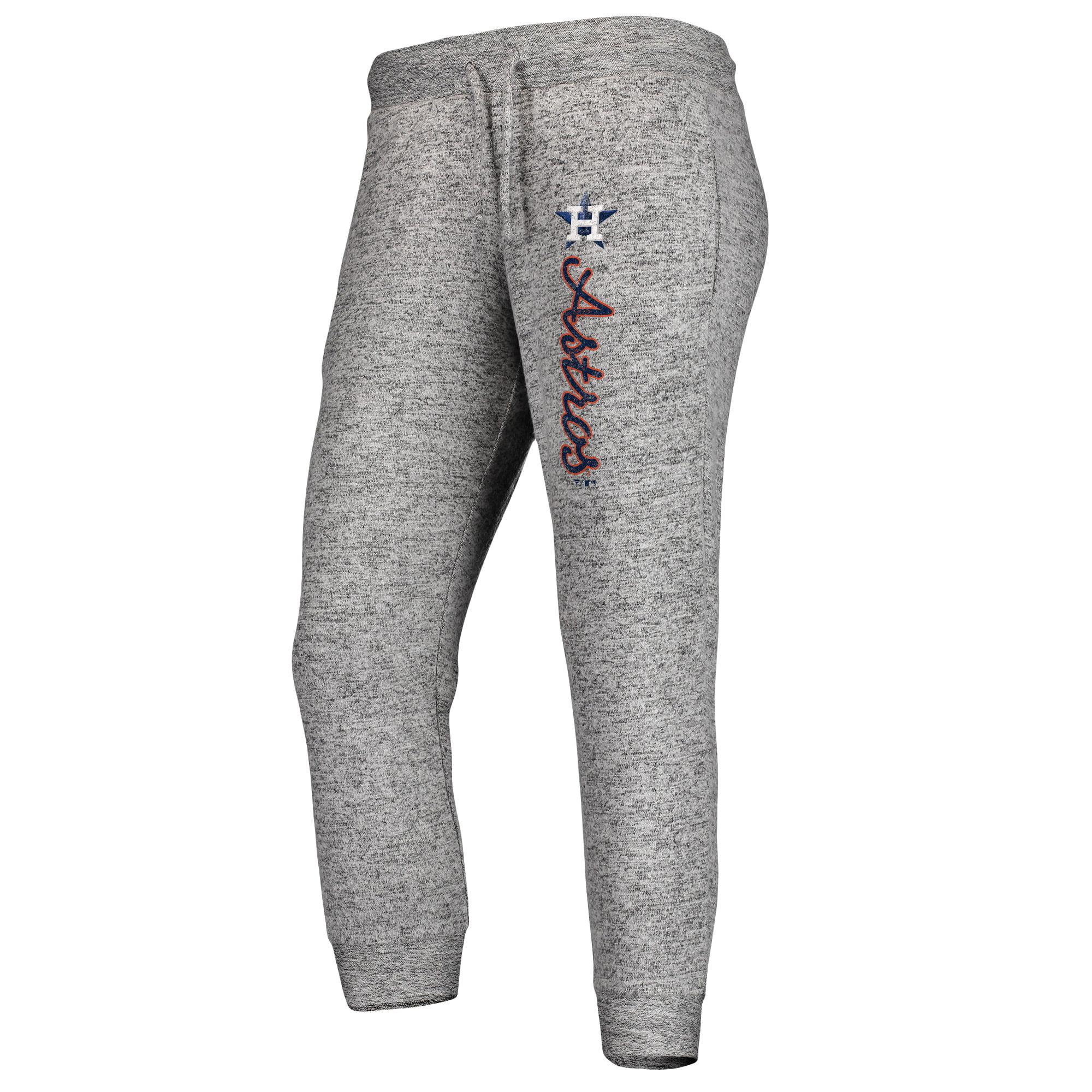 Houston Astros Fanatics Branded Women's Cozy Steadfast Jogger Pants - Heathered Gray