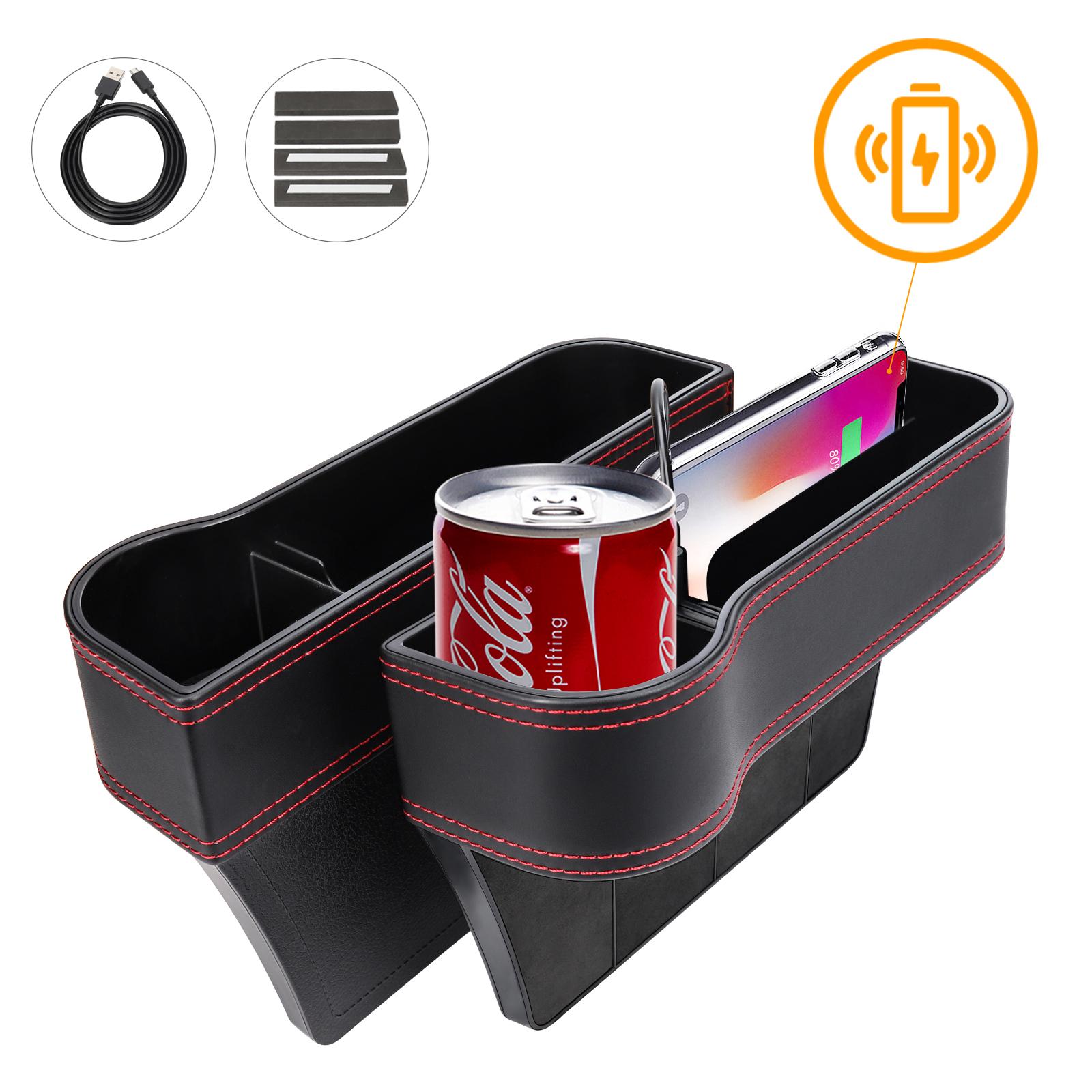 Car Auto Accessories Seat Seam Storage Box Phone Holder Organize/_vi