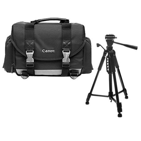 Canon 200DG Digital SLR Camera Case Gadget Bag + Tripod Kit