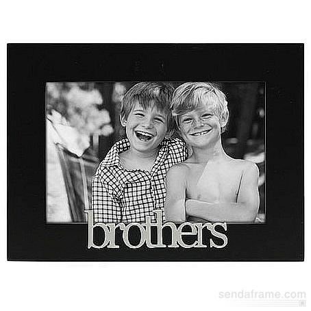4x6 Brothers Expressions PICTURE FRAME
