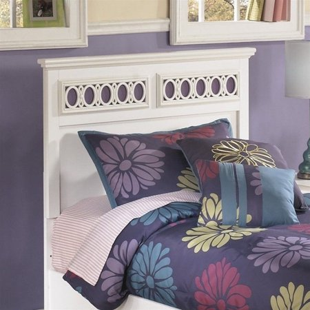 Signature Design By Ashley Furniture Zayley Panel Headboard In White