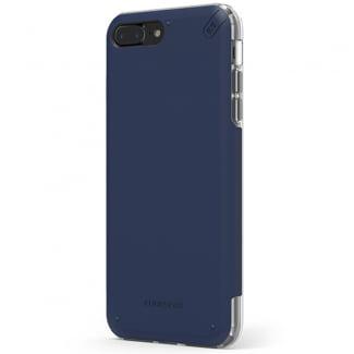 blue clear iphone 8 case