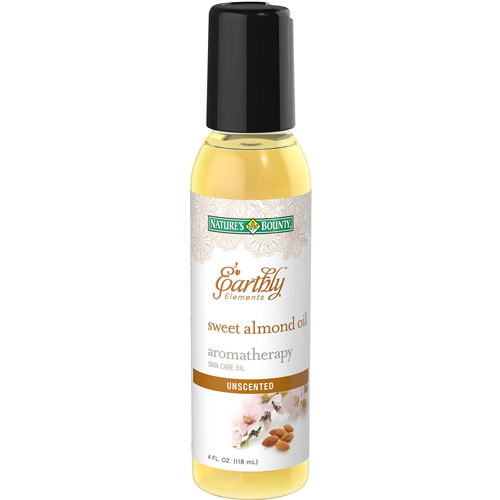 Nature's Bounty Earthly Elements Aromatherapy Sweet Almond Skin Care Oil, 4 fl oz