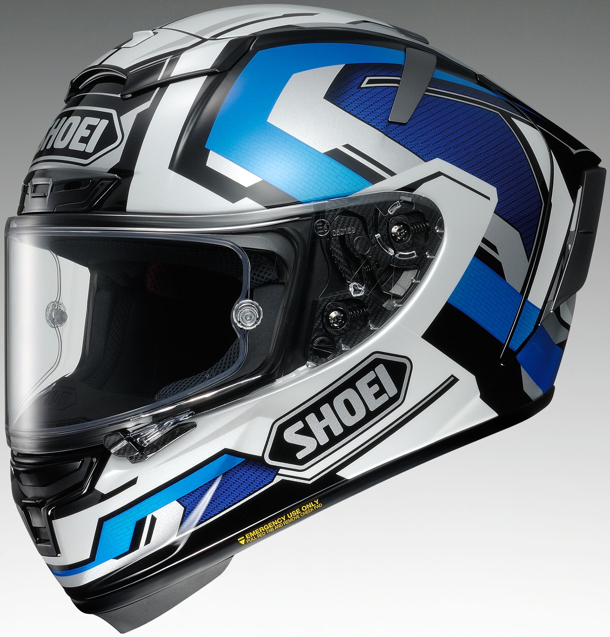 Shoei X-Fourteen Brink Helmet TC-10 (Yellow, Large)