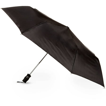Totes Isotoner Auto Open Close Umbrella - Black Lace Umbrella