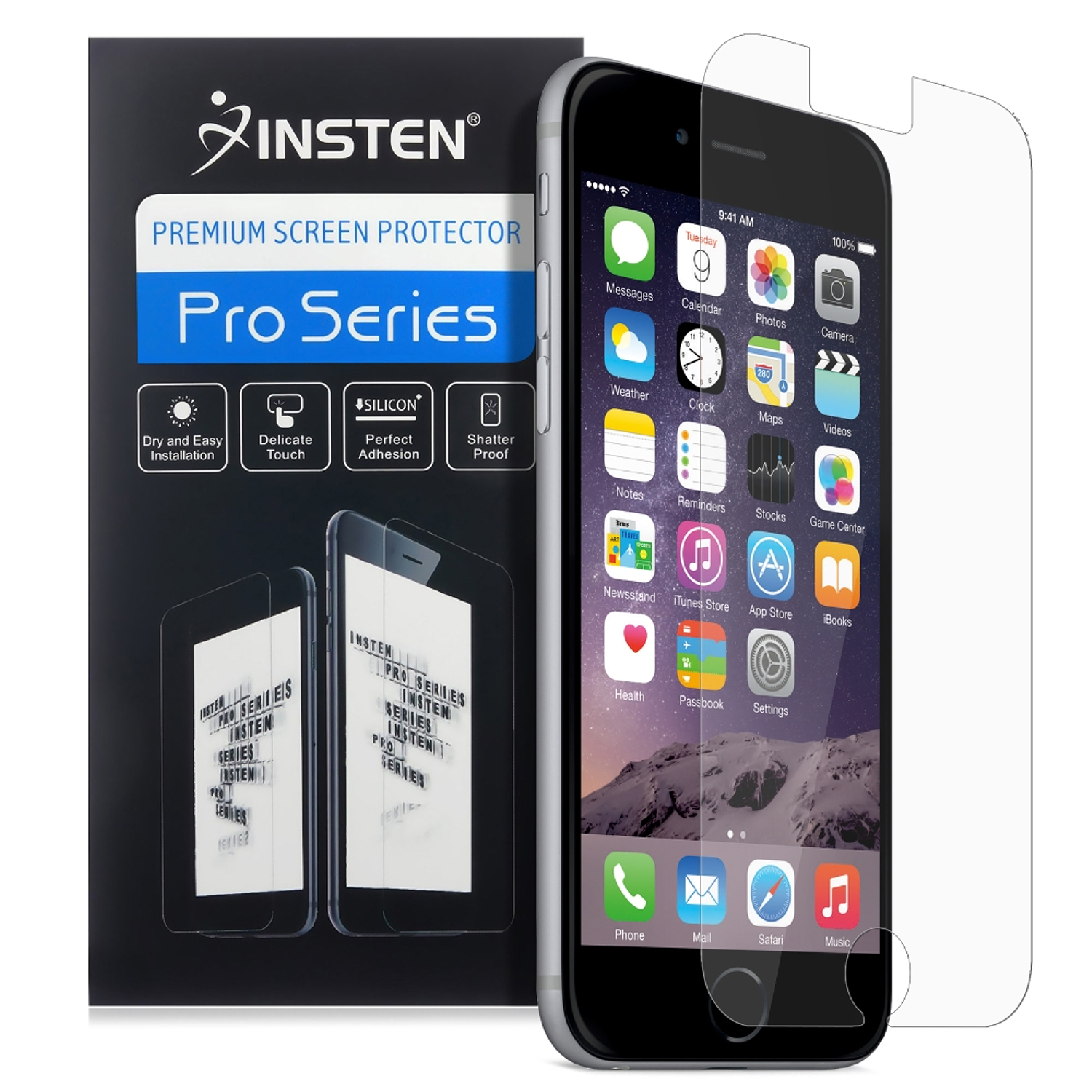 Insten 1 x Clear Screen Protector Guard For iphone 6S 6