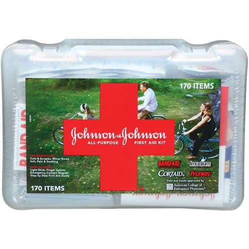 Johnson & Johnson All Purpose 170ct First Aid Kit