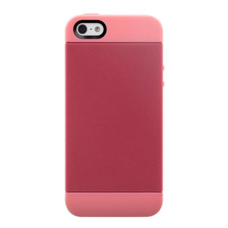 Switcheasy Colors Silicone (SwitchEasy SW-TON5-P Tones Hybrid Case for iPhone 5 & 5s - 1 Pack - Retail Packaging -)
